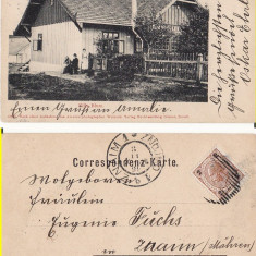 Siret (Bucovina, Suceava)- RRR - Carte Postala Bucovina pana la 1904, Circulata, Printata