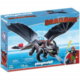 Dragons - Hiccup Si Toothless, Playmobil
