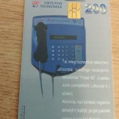 BRCTf - CARTELA TELEFONICA - TEMATICA TELECOMUNICATII