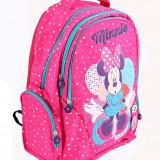 Ghiozdan Minnie Mouse Dots 3D, roz, clasele primare, Pigna