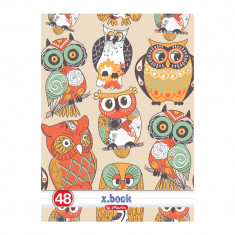 Caiet studentesc A4 Herlitz 48 file model Owl