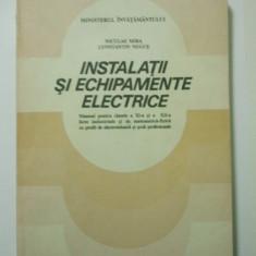 Manual de Instalatii si Echipamente Electrice - Manual scolar, Clasa 10, Alte materii