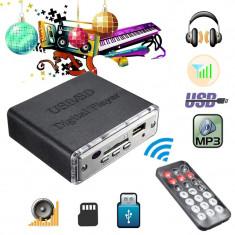 Mini amplificator audio portabil cu usb 12v, 0-40W