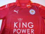Tricou (Nou) PUMA fotbal - LEICESTER CITY FC (Anglia), XL, Rosu, De club
