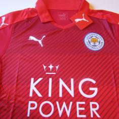 Tricou (Nou) PUMA fotbal - LEICESTER CITY FC (Anglia) - Tricou echipa fotbal, Marime: XL, Culoare: Rosu, De club, Maneca scurta