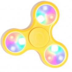 Spinner led cu senzor de miscare galben/oranj