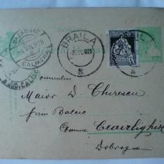 Carte postala cu stampile Balcic, Bazargic- Caliacra pentru Maior Chirescu - Carte Postala Dobrogea dupa 1918, Circulata, Fotografie