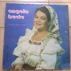 Angela buciu cetera cand te aud album disc vinyl lp Muzica Populara electrecord folcor, VINIL
