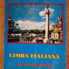 Constantin Marcusan - Limba italiana Manual pentru incepatori