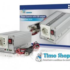 Invertor de tensiune 24V-230V, 4000W, HQ-INV4000-24