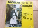 nicolae sabau alina te dor alina II album disc vinyl lp muzica populara folclor