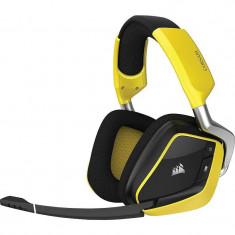 Casti gaming Corsair Void Pro RGB Wireless Dolby 7.1 Yellow - Casca PC