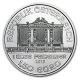 AUSTRIA 1,50 EURO –WIENER PHILHARMONIKER- 2015 1 oz / Ag. 999 / UNC / in capsula