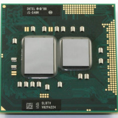 Procesor laptop Intel I5-520M 2.93 Ghz gen 1-a PGA988 -> Garantie 6 luni, Intel, Intel Core i5, 2500- 3000 Mhz, Numar nuclee: 2