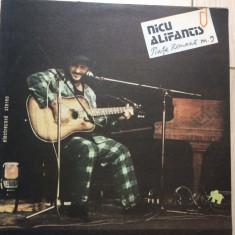Nicu Alifantis Piata Romana Nr 9 album disc vinyl lp muzica pop folk rock 1988 - Muzica Folk electrecord, VINIL