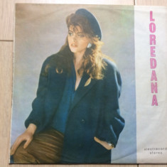 Loredana groza buna seara iubito album disc vinyl lp Muzica Pop electrecord usoara slagare, VINIL