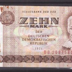 Germania(DDR) 1971 - 10 mark