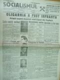 Socialismul 21 februarie 1928 Ghelerter Petrescu Cristescu Popovici Cernavoda
