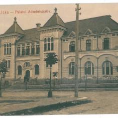4049 - RM. VALCEA, Judecatoria - old postcard - used - 1911 - Carte Postala Oltenia 1904-1918, Circulata, Printata