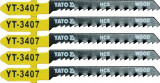 Set 5 lame HCS fierastrau pendular 13 TPI YATO