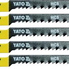 Set 5 lame HCS fierastrau pendular 13 TPI YATO - Cutter