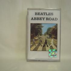 Vand caseta audio The Beatles - Abbey Road, originala, sigilata.Raritate! - Muzica Pop, Casete audio