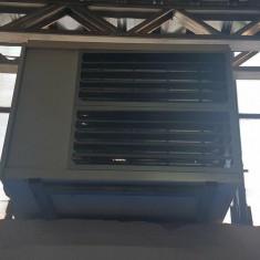 Aeroterma hale + kit de evacuare gaze arse