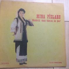 Mina pislaru paslaru haideti mai flacai la joc disc vinyl lp Muzica Populara electrecord, VINIL
