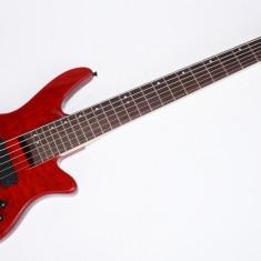 Chitara Bass Cherrystone 6 Corzi Rosu Nou