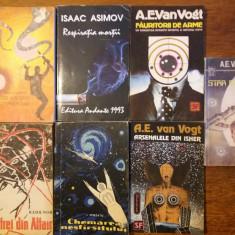 7 carti SF - Van Vogt, Asimov, Nor, Minzatu, Carsac / R4P5S - Carte SF