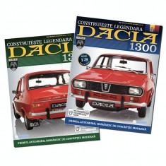 "Revista ""Macheta Dacia 1300"" pachet 8 numere sigilate"