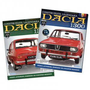 Revista Macheta Dacia 1300 pachet 8 numere sigilate