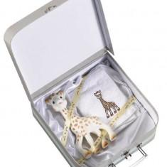 Girafa Sophie in valiza cadou - Vulli