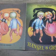 Hansel si Gretel - Fratii Grimm/ ilustratii Adriana Mihailescu - Carte de povesti