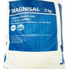 Ingrasamant foliar , solubil in apa Magnisal(Magnesiu Nitrate) 11-0-0-15 sac 25kg