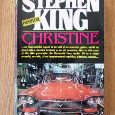 STEPHEN KING- CHRISTINE - Carte Horror
