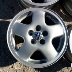 JANTE ORIGINALE VW 15 5X100 - Janta aliaj, 6, 5, Numar prezoane: 5