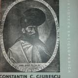 CONSTANTIN C. GIURESCU - ISTORIA ROMANILOR - VOL. II - PARTEA INTAI - Istorie