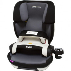 Scaun Auto cu Isofix Salvo 9-36 kg Gri - Scaun auto copii, 1-2-3 (9-36 kg)