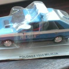 Macheta DeAgostini - FSO Polonez 1500 Militia -  Masini de Legenda Polonia 1/43