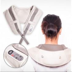 Centura pentru masajul zonei cervicale - modelul mare! - Centura masaj