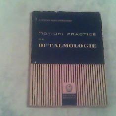 Notiuni practice de oftalmologie-Dr.Mircea Alexandru Chirileanu - Carte Oftalmologie