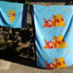 Winnie The Pooh / Lenjerie copii / pat 1 persoana - Lenjerie pat copii, Alte dimensiuni