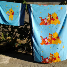 Winnie The Pooh / Lenjerie copii 3 piese - Lenjerie pat copii, Alte dimensiuni