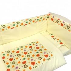 Lenjerie pentru pat 140 x 70 cm Nasturasii Poznasi Deseda - Lenjerie pat copii