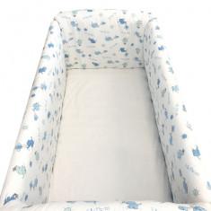 Aparatori laterale pentru pat Maxi 140 x 70 cm Elefantei Deseda - Lenjerie pat copii
