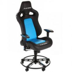 Scaun gaming Playseat L33T BLUE Negru/Albastru, Piele, Metal