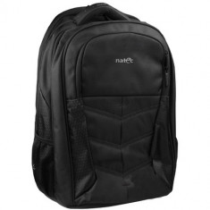 "Rucsac notebook 15.6 inch Natec - CAMEL 2 (15.6"") - Geanta laptop Natec, Nailon, Negru"