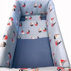 Lenjerie de pat 7 piese Maxi 120 x 60 cm La Mare Deseda - Lenjerie pat copii