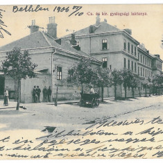 4032 - Maramures, SATU-MARE - old postcard - used - 1906 - Carte Postala Maramures 1904-1918, Circulata, Printata